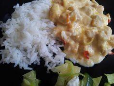 Sweet chili kyckling New Recipes, Recipies, Sweet Chili, Creme Fraiche, 20 Min, Poultry, Risotto, Chicken Recipes, Turkey