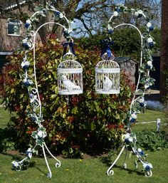 New for 2016 hanging cages for you dove release at your wedding
