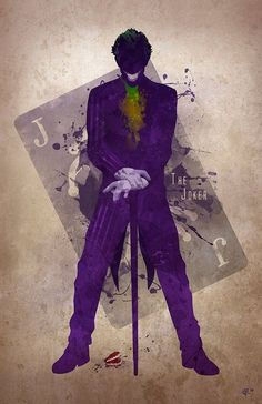 Image discovered by Alien Princess. Find images and videos about batman, joker and dc comics on We Heart It - the app to get lost in what you love. Le Joker Batman, Der Joker, Joker Art, Joker And Harley Quinn, Spiderman, Gotham Batman, Batman Art, Batman Robin, Joker Comic