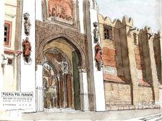 Alfonso Garcia Garcia - Puerta del Perron
