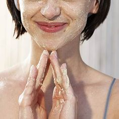 Flaky winter skin? Try an exfoliating face wash with citric acid. #beauty #skin | Health.com