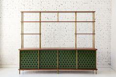 Modern shelves.  Room divider. Fort Standard