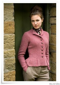 Knitted jacket - Kim Hargreaves