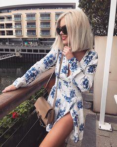 "10.5 mil Me gusta, 46 comentarios - Laura Jade Stone (@laurajadestone) en Instagram: ""This dress @isleofwhitelabel ✨ Use laurajade20 at checkout for 20% off """