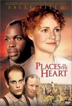 """"""" Places in the Heart."""" Field won her second Oscar for """"Places...."""""""