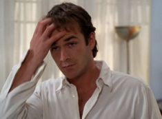 Luke Perry, Beverly Hills 90210, Handsome Actors, Moustaches, Rest In Peace, Luther, Cute Guys, Angel, Live