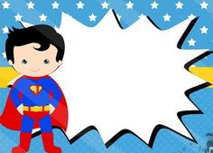 New birthday invitations for boys super heros 23 Ideas
