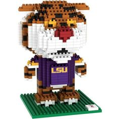 Forever Collectibles Louisiana State University 3-D Mascot Puzzle (Purple, Size ) - NCAA Licensed Product, NCAA Novelty at Academy Sports