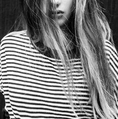 Stripes + natural hair