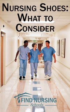 As a nurse, you'll be on your feet for long periods of time. It's important that you find shoes that allow you to stand for a shift. What Is Nursing, Nursing Tips, Nursing Shoes, Nursing Clothes, Cna Nurse, Nurse Life, Child Nursing, Nursing Students, Medical Sales