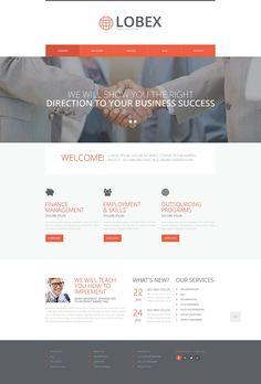 Consulting Responsive Website Template New Screenshots BIG