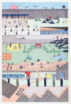 Rem Koolhaas, Concours Parc de La Vilette.
