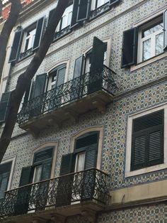 Lisboa,fachada de azulejos