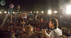 Chairman Imran Khan said in an interview two days ago that Lahore has never let him down. On October 4, 2015 at Dungi Ground, the Lahoris once again showed that Lahore belongs to PTI and that the mandate was stolen in General Elections 2013. The momentum for By-Elections is with PTI and PMLN is already on backfoot and panicking The cornered tigers have taken over Lahore and are ready to claim NA122 in By-Elections on Oct 11, 2015. Kaptaan and Abdul Aleem Khan delivered the speeches
