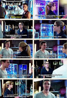 Arrow - Roy, Oliver and Felicity #Season2