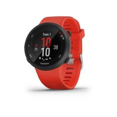 Garmin Forerunner 45 Gps Running Smartwatch And Fitness Tracker Large - Lava Red Lava Red Large Apps For Running, Running Watch, Smartwatch, Display Design, Sport Watches, Watches For Men, Nice Watches, Popular Watches, Gps Sports Watch