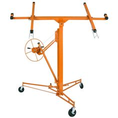 11ft Drywall Lift Panel Hoist Orange | The DIY Outlet TREATU20 for $20 off.