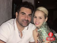 Meet Arbaaz Khan's new girlfriend, Alexandra Camelia. - We just got our hands on Arbaaz Khan's romantic pics with his Romanian girlfriend Alexandra Arbaaz Khan, Salman Khan, Romantic Pictures, New Girlfriend, Love Again, Bollywood News, New Love, Girl Names, Pretty Woman