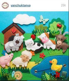 Tento pin objavil(a) saska mriskova. Baby Crafts, Felt Crafts, Sewing Crafts, Sewing Projects, Felt Kids, Fairy Lanterns, Quiet Book Patterns, Felt Quiet Books, Busy Book