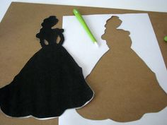 Painted Princess Silhouettes