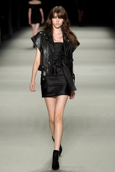 Saint Laurent | Spring 2014 Ready-to-Wear Collection | Grace Hartzel Modeling | Style.com