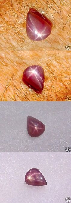 Other Rubies 164406: Star Ruby Extra Fine Cherry Jewel Double Sided Bright Star 4.2 Cts S.E. Asia BUY IT NOW ONLY: $320.0