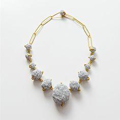 Burcu Sulek , necklace , Emptiness Collection