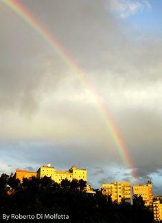 Arcobaleno a Frosinone
