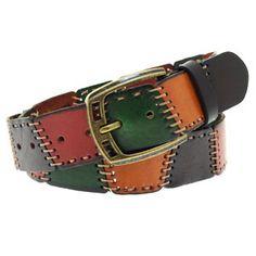 cinturón artesanal en cuero | Marisol Alvarez | Flickr