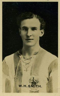 Billy Smith of Huddersfield Town in Huddersfield Town, Terriers, 1920s, Champion, Football, Soccer, Futbol, Huddersfield Town A.f.c., Terrier