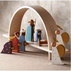 Modern Nativity Scene   ThisNext