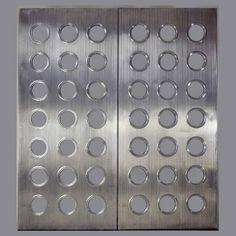 Phillips, de Pury & Company-Pair of 'Porthole' door panels Jean Prouve