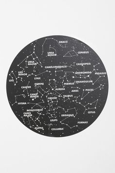 Katie-thought this would be cool in your room! Constellation Wall Decal from Urban Outfitters