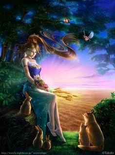 tellus - Beautiful Fantasy Art by Takaki  <3 <3