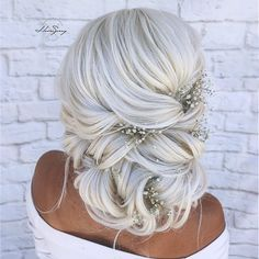 [New] The 10 Best Hairstyle Ideas Today (with Pictures) - Bridal Hair envy! Bride Hairstyles, Pretty Hairstyles, Straight Hairstyles, Hairstyle Ideas, Short Hairstyles, Wedding Hair And Makeup, Bridal Hair, Hair Makeup, Romantic Updo