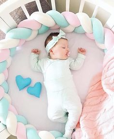 Cheap Price of Sweet Baby Soft Knot Pillow Braided Crib Bumper Decorative Baby Bedding Sheets Cushion If You will buy for baby bedding, then. Baby Bedding, Baby Pillows, Bedding Sets, Knot Cushion, Knot Pillow, Cushion Pillow, Baby Crib Bumpers, Baby Cribs, Baby Cot Bumper