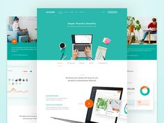 Teachable - Features by Balkan Brothers #Design Popular #Dribbble #shots