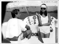 Vintage photo of Stefano Casiraghi and Caroline | eBay