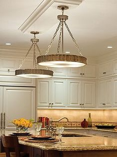 How To Replace Fluorescent Lighting With A Pendant Fixture ... Kitchen Lighting Ideas Popcorn C Html on