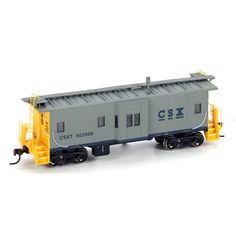 HO RTR Bay Window Caboose, CSX #903968 (ATH74682): Athearn Trains