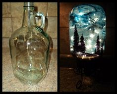 How to Make Your Own Starry Nights Decoration With A Jar And Lights