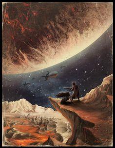 Cover for Dark Planet by HELMUTTT on DeviantArt