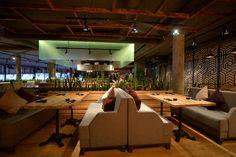 Современный интерьер ресторана японской кухни