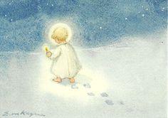 Kind met kaars, Erica Kager