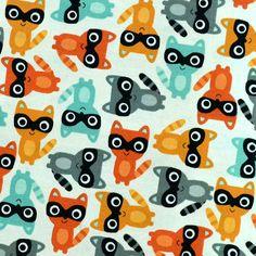 stof gedrukt katoen ontwerp Patchwork van Hand fan store op DaWanda.com