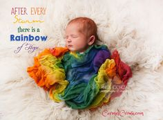Rainbow Baby Wrap - Cheesecloth Wrap - Newborn Photography Prop