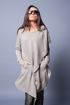 Draped Hooded Wrap