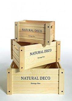 Διακοσμητικά καφάσια ξύλινα Crate Decor, Dry Goods, Wine Cellar, Wooden Boxes, Toy Chest, Crates, Storage Chest, Display, Spice