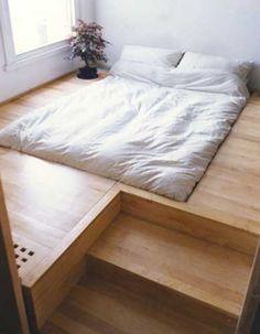 Simple Minimalist bed design