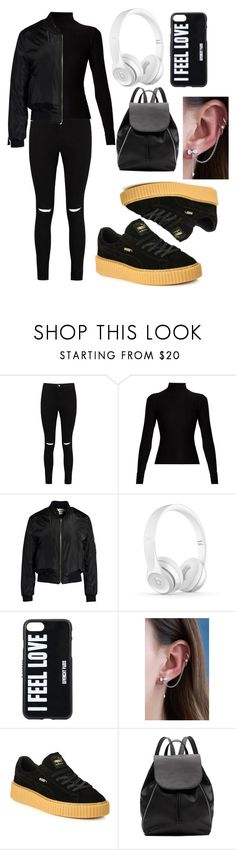 """Emo?"" by naruto-sabrahummus ❤ liked on Polyvore featuring Boohoo, Acne Studios, Sans Souci, Givenchy, DOSE of ROSE, Puma and Witchery"